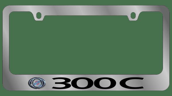 Гравировка автомобильной рамки 300C