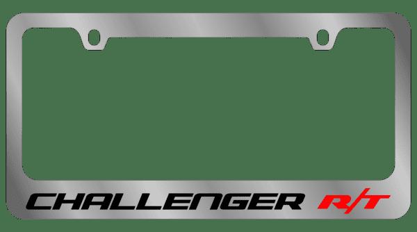 Гравировка автомобильной рамки Challenger