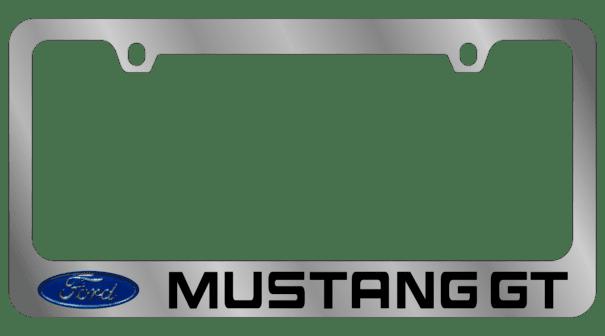 Гравировка автомобильной рамки Ford Mustang