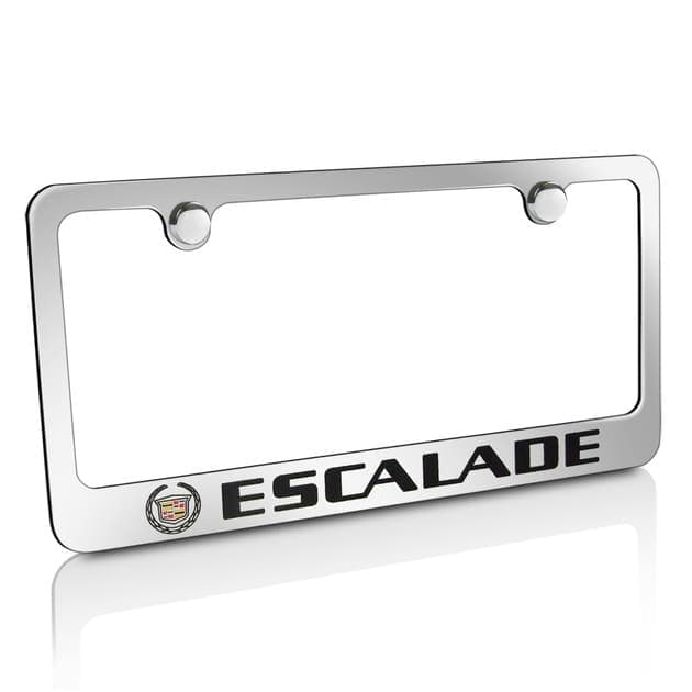 Гравировка автомобильной рамки Escalade