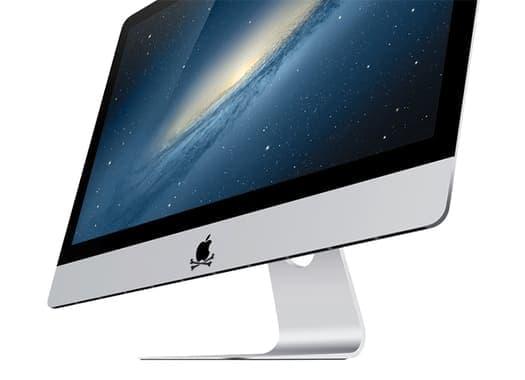 Гравировка на iMac