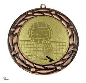 Медаль за победу на волейбольном турнире