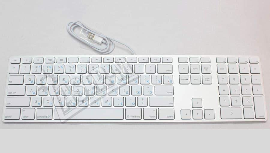 Гравировка клавиатуры для iMac